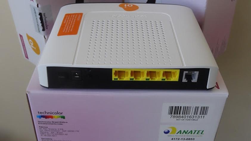 Configurando NAT no roteador TD5136v2 OI